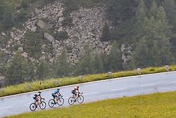 07.07.2017, St. Johann Alpendorf, AUT, Ö-Tour, Österreich Radrundfahrt 2017, 5. Kitzbühel - St. Johann/Alpendorf (212,5 km), im Bild Ben O'Connor (AUS, Team Dimension Data), Riccardo Zoidl (AUT, Team Felbermayr Simplon Wels), Pieter Weening (NED, Roompot - Nederlandse Loterij) // Ben O'Connor (AUS, Team Dimension Data), Riccardo Zoidl (AUT, Team Felbermayr Simplon Wels), Pieter Weening (NED, Roompot - Nederlandse Loterij) during the 5th stage from Kitzbuehel - St. Johann/Alpendorf (212,5 km) of 2017 Tour of Austria. St. Johann Alpendorf, Austria on 2017/07/07. EXPA Pictures © 2017, PhotoCredit: EXPA/ JFK