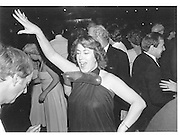 Lady Dancing. Conservative  Ball. Frimley. 1983© Copyright Photograph by Dafydd Jones 66 Stockwell Park Rd. London SW9 0DA Tel 020 7733 0108 www.dafjones.com