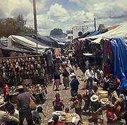 A3A9Y8 Chichicastenango market Guatemala Central America