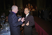 John Walford and Jimmy Choo. Fashion show and dinner hosted by Shangri-la Hotels and Andy Wong featuring fashion by new designer Lu Kun held at The Goldsmiths Hall, Foster Lane, London on 25th April 2005ONE TIME USE ONLY - DO NOT ARCHIVE  © Copyright Photograph by Dafydd Jones 66 Stockwell Park Rd. London SW9 0DA Tel 020 7733 0108 www.dafjones.com