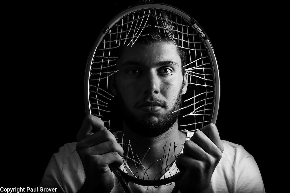 .Ex-Tennis player Oliver Golding who quit