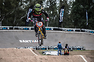 #119 (MECHIELSEN Drew) CAN at the 2014 UCI BMX Supercross World Cup in Santiago Del Estero, Argentina.