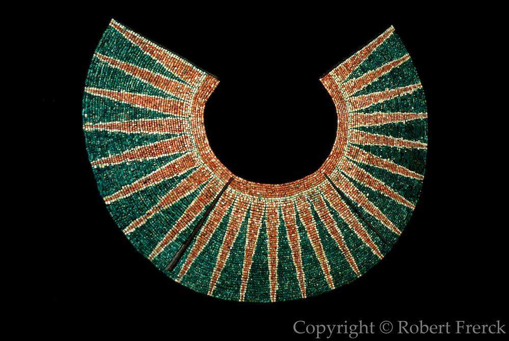 PERU, PREHISPANIC, GOLD Mochica; Lord of Sipan pectoral