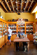 Foster and Dobbs, a cheese, wine and gourmet food shop in a neighborhood in NE Portland, Oregon.