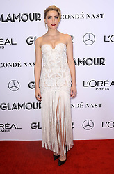 Amber Heard at the 2018 Glamour Women Of the Year Awards: Women Rise at Spring Studios in New York City.