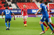 Charlton Athletic midfielder Ben Reeves (12) during the EFL Sky Bet League 1 match between Charlton Athletic and AFC Wimbledon at The Valley, London, England on 15 December 2018.