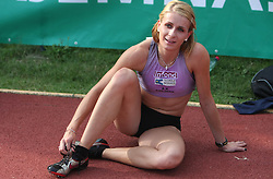 Sabina Veit at Athletic National Championship of Slovenia, on July 20, 2008, in Stadium Poljane, Maribor, Slovenia. (Photo by Vid Ponikvar / Sportal Images).