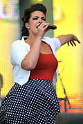 Caro Emerald op Festival BredaLive op het Chasseveld te Breda