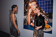 NADIA GIRAMATA; CHLOE LE CAREUX The Vogue Festival 2012 in association with Vertu- cocktail party. Royal Geographical Society. Kensington Gore. London. SW7. 20 April 2012.