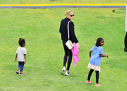 Charlize Theron enjoyed Mother's Day early with her kids at a local carnival in Los Angeles, CA. The actress and her two adopted kids August & Jackson were all smiles while enjoying the rides and the festivities. ***SPECIAL INSTRUCTIONS*** Please pixelate children's faces before publication.***. 12 May 2018 Pictured: Charlize Theron enjoyed Mother's Day early with her kids at a local carnival in Los Angeles, CA. The actress and her two adopted kids August & Jackson were all smiles while enjoying the rides and the festivities. Photo credit: Marksman / MEGA TheMegaAgency.com +1 888 505 6342