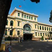Old Saigon Central Post Office, Ho Chi Minh, Vietnam
