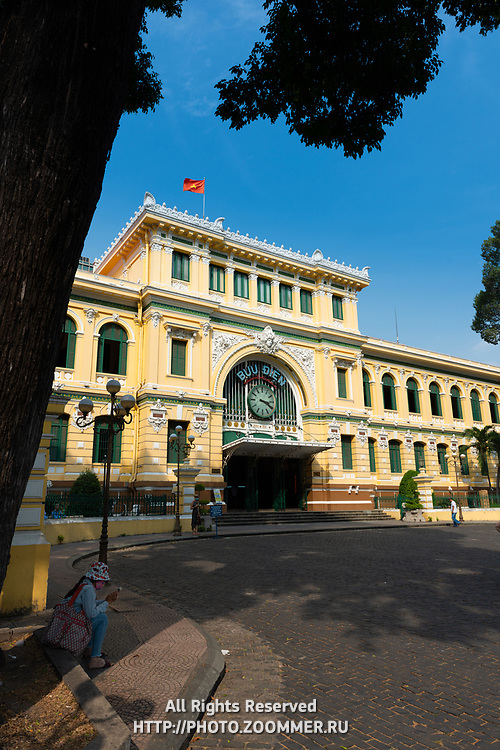 Old Saigon Central Post Office, Ho Chi Minh, Vietnam