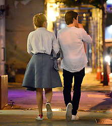 EXCLUSIVE: *NO WEB UNTIL 2200 BST 30TH JUN* After recently going public with her new boyfriend, Princess Beatrice leaves an upscale West Hollywood sushi joint with her new man Edoardo Mapelli Mozzi. 27 Jun 2019 Pictured: Princess Beatrice of York. Photo credit: MEGA TheMegaAgency.com +1 888 505 6342