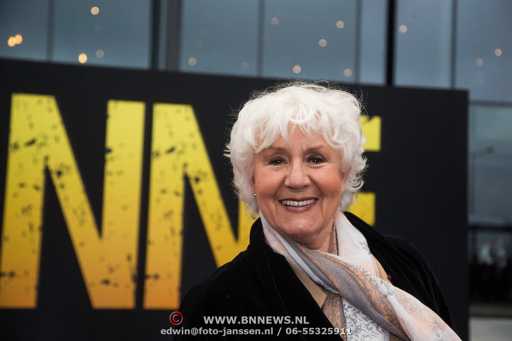 NLD/Amsterdam/20140508 - Wereldpremiere voorstelling Anne, Wil Blankers