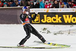 30.12.2011, Schattenbergschanze / Erdinger Arena, GER, Vierschanzentournee, FIS Weldcup, Wettkampf, Ski Springen, im Bild Gregor Schlierenzauer (AUT) // Gregor Schlierenzauer of Austria during the competition of FIS World Cup Ski Jumping in Oberstdorf, Germany on 2011/12/30. EXPA Pictures © 2011, PhotoCredit: EXPA/ P.Rinderer
