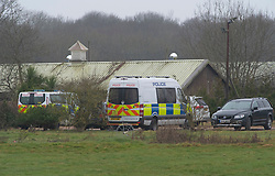 © Licensed to London News Pictures 10/03/2021. Ashford, UK. The site. Teams of police officers are at Great Chart Leisure in Ashford, Kent which is believed to be part of an ongoing investigation into the disappearance of Sarah Everard from London. Photo credit:Grant Falvey/LNP