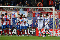 09.12.2012 SPAIN -  La Liga 12/13 Matchday 15th  match played between Atletico de Madrid vs R.C. Deportivo de la Courna (6-0) at Vicente Calderon stadium. The picture show Abel Aguilar (Player of R.C. Deportivo)