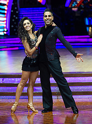 Dr Ranj Singh and Janette Manrara attend the photocall for the 'Strictly Come Dancing' live tour at Arena Birmingham on 17 January 2019 in Birmingham, England. Picture date: Thursday 17 January, 2019. Photo credit: Katja Ogrin/ EMPICS Entertainment.