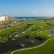 Hilton Cancun golf course.