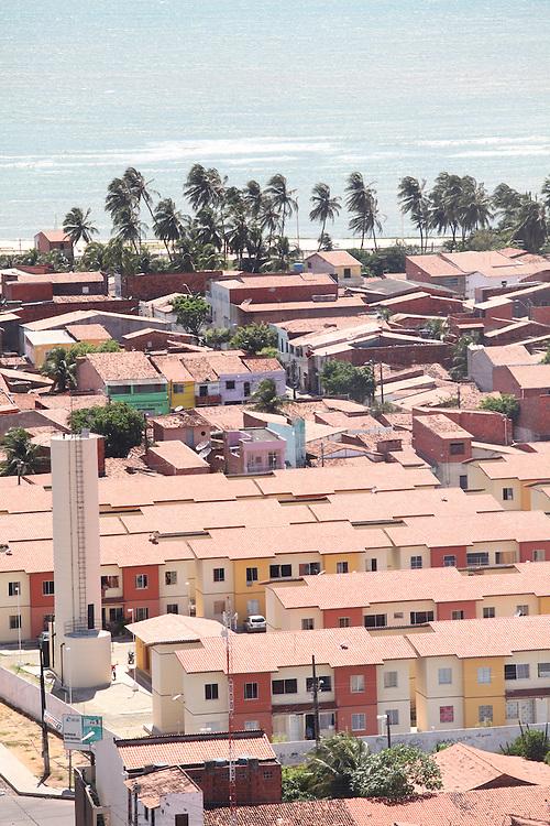 Fortaleza_CE, Brasil.<br /> <br /> Conjunto Habitacional Vila do Mar em Fortaleza, Ceara.<br /> <br /> The aerial view of Vila do Mar housing state in Fortaleza, Ceara.<br /> <br /> Foto: JOAO MARCOS ROSA / NITRO