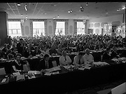 GAA Annual Congress At Malahide.   (R99)..1989..01.04.1989..04.01.1989..1st April 1989..The annual GAA Congress was held this week at the Grand Hotel, Malahide,Dublin. The congress sets out GAA policy for the coming year...Picture shows a view of the delegates attending the congress at the Grand Hotel,Malahide.