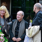 NLD/Amsterdam/20110729 - Uitvaart actrice Ina van Faassen, Leontien Ceulemans en ………….