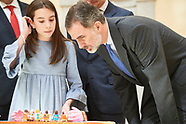 031119 King Felipe VI attends 37th edition of the school contest 'What is a King for you?'