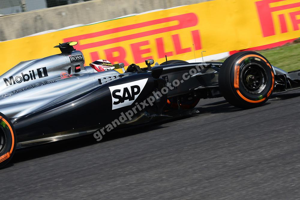 Kevin Magnussen (McLaren-Mercedes) during practice for the 2014 Japanese Grand Prix in Suzuka. Photo: Grand Prix Photo