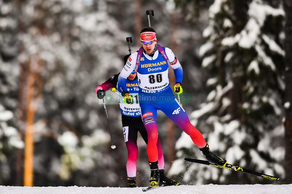 March 9, 2019 - –Stersund, Sweden - 190309 Tomas Hasilla of Slovakia competes in the Men's 10 KM sprint during the IBU World Championships Biathlon on March 9, 2019 in Östersund..Photo: Petter Arvidson / BILDBYRÃ…N / kod PA / 92252 (Credit Image: © Petter Arvidson/Bildbyran via ZUMA Press)