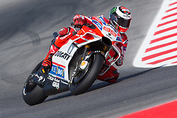 September 8, 2017 - Misano Adriatico, RN, Italy - Jorge Lorenzo of Ducati Team during the Free Practice 1 of the Tribul Mastercard Grand Prix of San Marino and Riviera di Rimini, at Misano World Circuit ''Marco Simoncelli'', on September 08, 2017 in Misano Adriatico, Italy  (Credit Image: © Danilo Di Giovanni/NurPhoto via ZUMA Press)