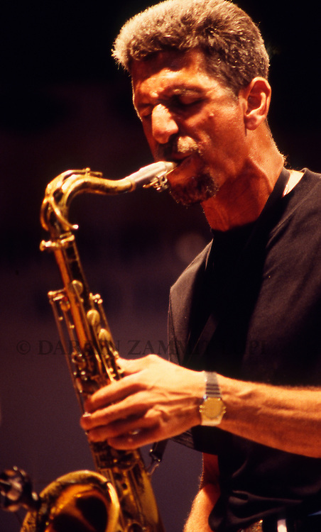 Bob Berg (John Patitucci), 1995<br /> Photo by Darrin Zammit Lupi