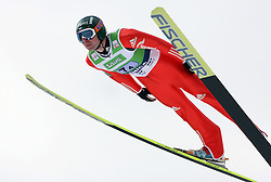 Dimitry Vassiliev (RUS) at Flying Hill Team in 3rd day of 32nd World Cup Competition of FIS World Cup Ski Jumping Final in Planica, Slovenia, on March 21, 2009. (Photo by Vid Ponikvar / Sportida)