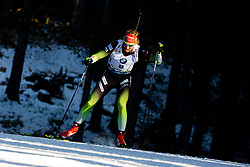 during the Men 20 km Individual Competition at day 1 of IBU Biathlon World Cup 2019/20 Pokljuka, on January 23, 2020 in Rudno polje, Pokljuka, Pokljuka, Slovenia. Photo by Peter Podobnik / Sportida