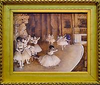 France, Paris (75), zone classée Patrimoine Mondial de l'UNESCO, Musée d'Orsay, Répétition d'un ballet sur scène, Edgar Degas // France, Paris, Orsay museum, Répétition d'un ballet sur scène, Edgar Degas