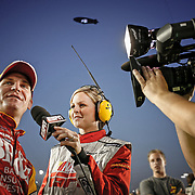 ESPN Production and Talent before The Southern 500. ©Travis Bell Photography
