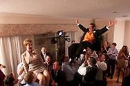 Winter Garden, Orlando, Fl. 10/3/2009- Wedding ceremony of Danielle Sanford Thomas and Adam Charles Hausmann October 3, 2009 at the West Orange Country Club in Winter Garden, Fl.<br /> Officiant Rabbi Richard Birnholz<br /> Maid of Honor Jennifer Hutton<br /> Best man Charlie Weinberg<br /> <br /> Photo: Michael Spooneybarger
