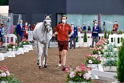Fuchs Martin, SUI, Clooney 51, 382<br /> Olympic Games Tokyo 2021<br /> © Hippo Foto - Dirk Caremans<br /> 31/07/2021