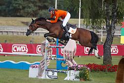 Morsink Veronique, NED, Faithfull<br /> European Championship Children, Juniors, Young Riders - Fontainebleau 1028<br /> © Hippo Foto - Dirk Caremans<br /> Morsink Veronique, NED, Faithfull