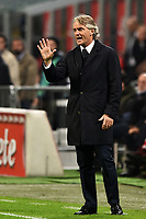 Roberto Mancini Inter <br /> Milano 31-10-2015 Stadio Giuseppe Meazza / San Siro Football Calcio Serie A 2015/2016 Inter - AS Roma Foto Andrea Staccioli / Insidefoto