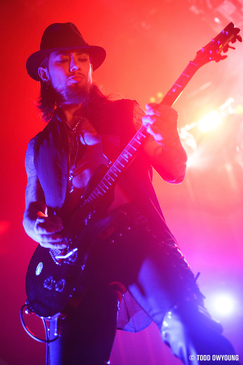 Jane's Addiction on the opener of their 2012 tour at the Pageant in St. Louis, Missouri on February 22, 2012.