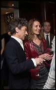 COUNT ADAM ZAMOYSKI; EMMA SERGEANT, Ralph Lauren host launch party for Nicky Haslam's book ' A Designer's Life' published by Jacqui Small. Ralph Lauren, 1 Bond St. London. 19 November 2014