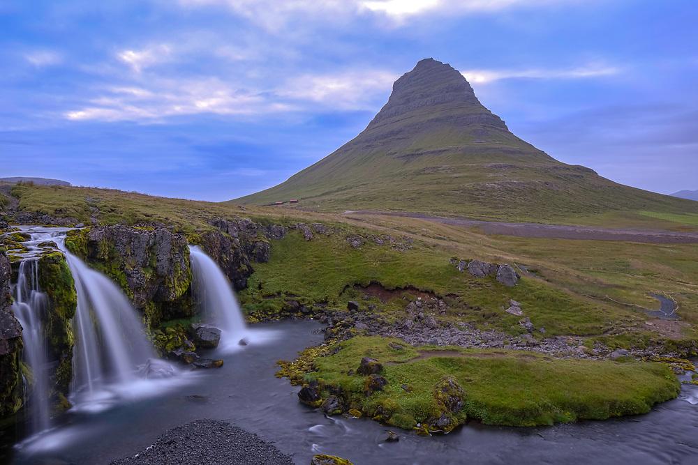 Kirkjufell at Blue Hour, Iceland