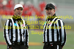 06 December 2014:  Normal Illinois.  Referee: Gregg Wilson;  Umpire: Bryan Hay; during a 1st round FCS NCAA football game between the Panthers of Northern Iowa and the Redbirds of Illinois State in Hancock Stadium.  Illinois State won the game 41-21.
