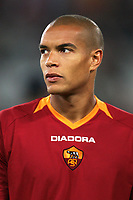 Fotball<br /> UEFA Champions League<br /> 31.10.2006<br /> Roma v Olympiacos / Olympiakos 1-1<br /> Foto: Inside/Digitalsport<br /> NORWAY ONLY<br /> <br /> Matteo Ferrari (Roma)