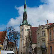 St Olaf's Church, Oleviste, Tallinn, Estonia
