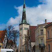 St Olaf's Church, Oleviste, Tallinn, Estonia