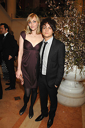 SOPHIE DAHL and JAMIE CULLUM at the Feast of Albion a sumptious locally-sourced banquet in aid of The Soil Association held at The Guildhall, City of London on 12th March 2008.<br />