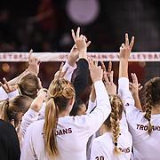 USC Women's Volleyball 2017 v Albany