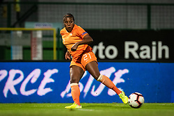 Lineth Beerensteyn of Nederland  during football match between Slovenia and Nederland in qualifying Round of Woman's qualifying for EURO 2021, on October 5, 2019 in Mestni stadion Fazanerija, Murska Sobota, Slovenia. Photo by Blaž Weindorfer / Sportida