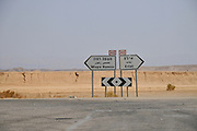 Israel, Highway 40 South to Eilat and North to Mitzpe Ramon, Beer Sheva and Tel Aviv